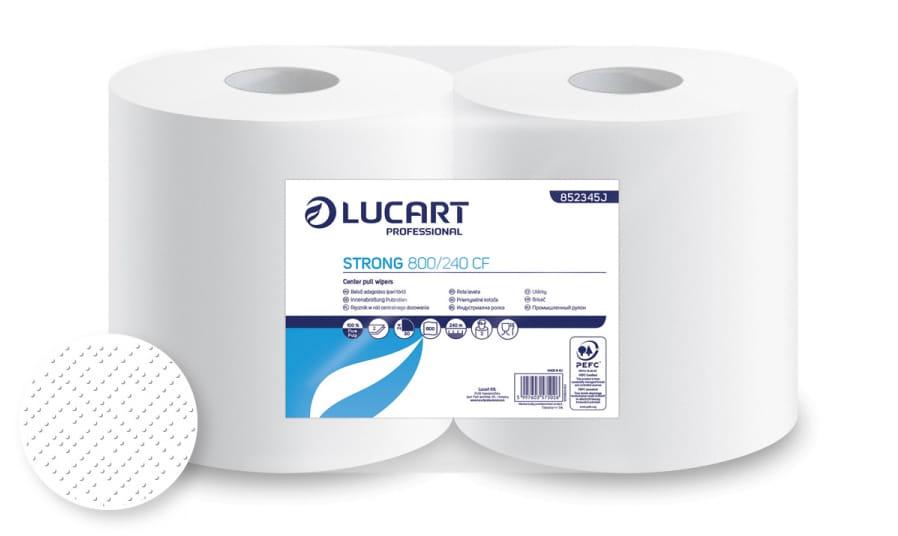 Recznik centralnego dozowania Lucart Strong 800/240