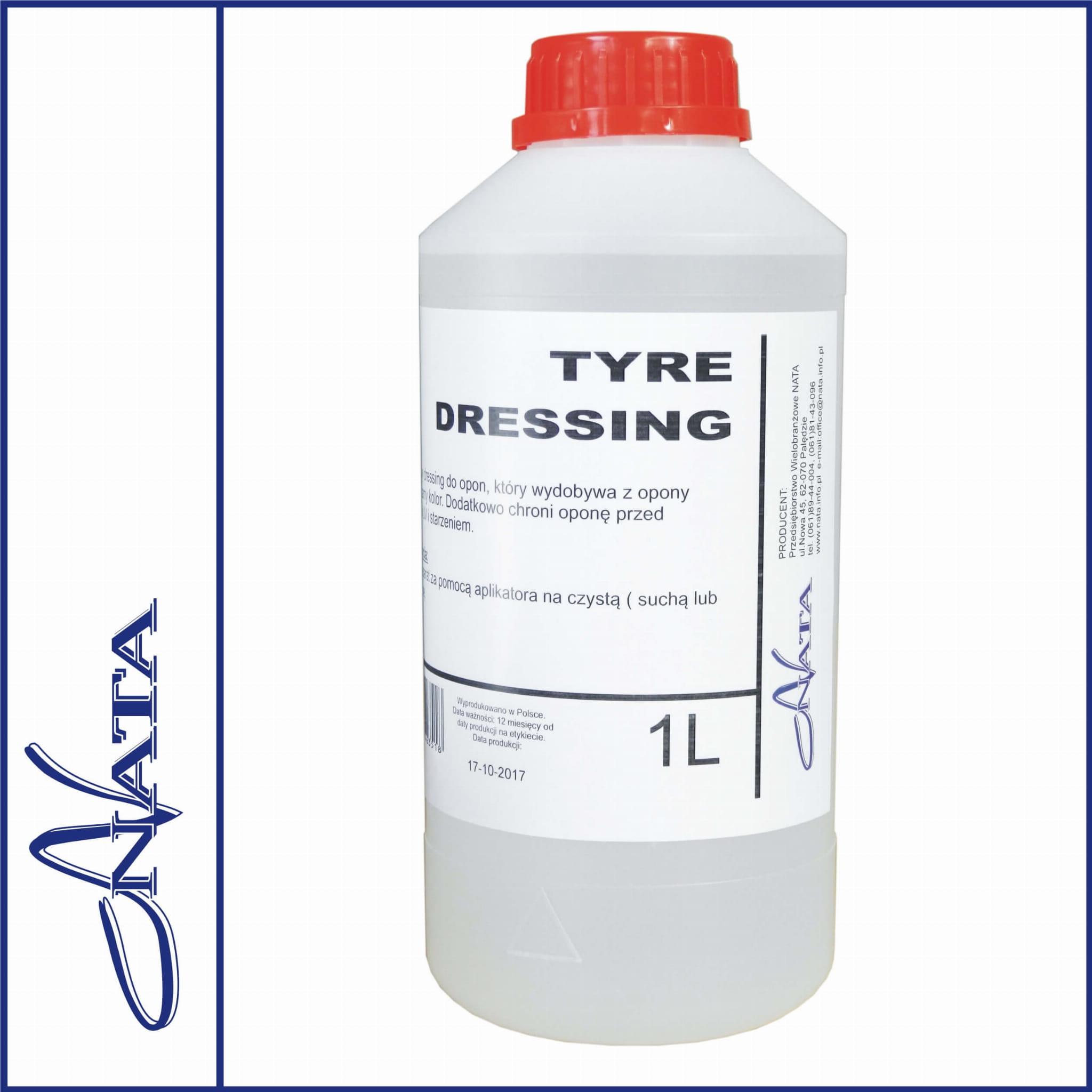 Tyre Dressing połysk 1kg - preparat do opon i plastików
