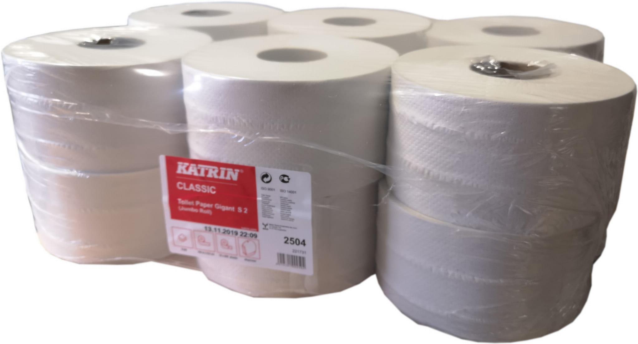 Papier toaletowy Katrin Classic Gigant Toilet S2 - 12 rolek  -  2504