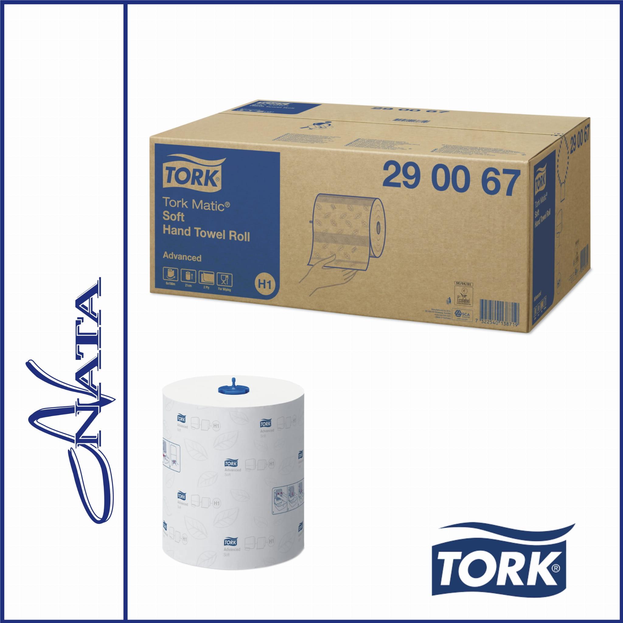 TORK  Ręcznik w roli miękki Advanced H1 6x150m 290067